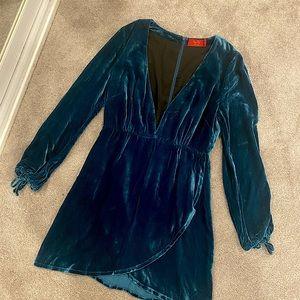 Velvet Tigerlily Dress